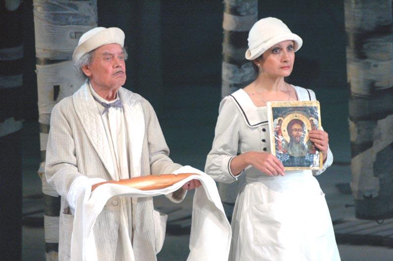 Она отметила, что в истории театра – это не первое его обращение к жиз