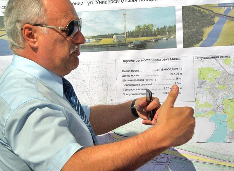 Заместитель главы Челябинска по дорожному хозяйству Владимир Алейников сегодня, 24 сентября, был