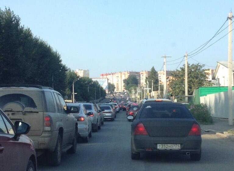 Как рассказали корреспонденту «Урал-пресс-информ» очевидцы происшествия, ДТП началось со столкнов
