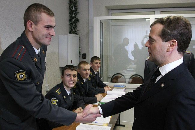 Основными темами совещания стали закон «О полиции», который вступит в силу первого марта 2011 год