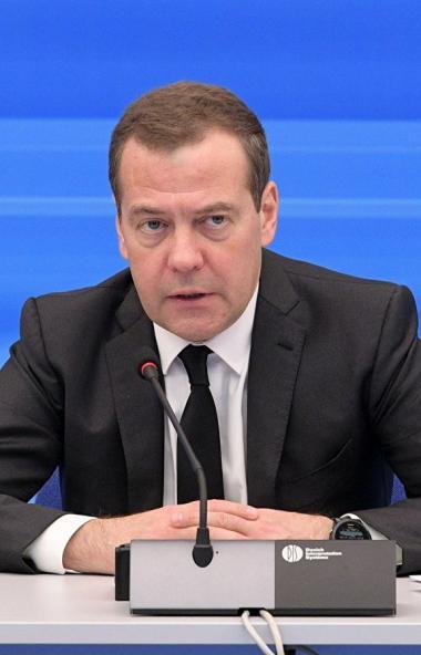 Председатель «Единой России», заместитель председателя Совета безопасности России Дмитрий