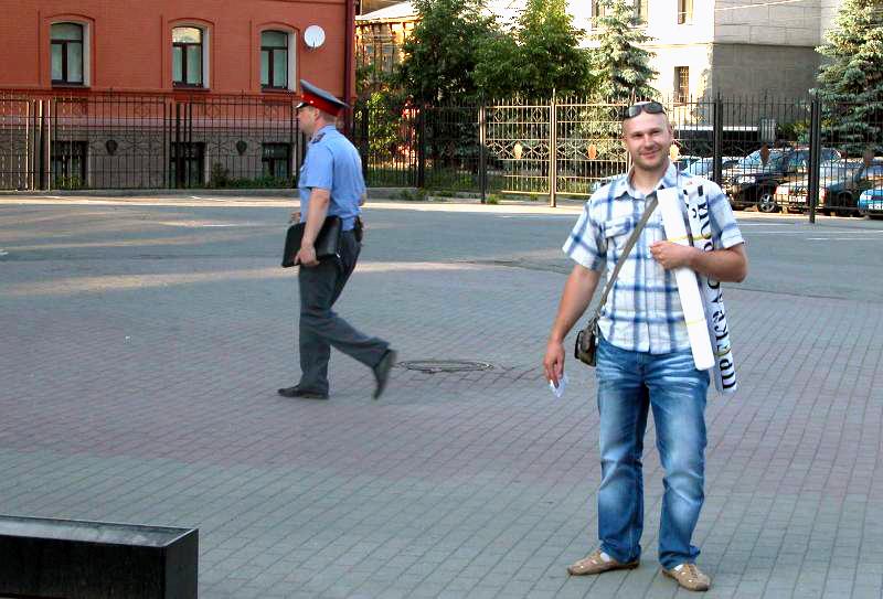 Сторонники «Стратегии 31» выступают в защиту свободы собраний в России. Движение названо так в со