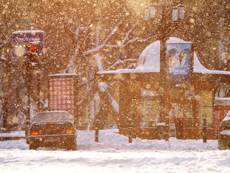 По данным Челябинского Гидрометеоцентра, на территории Челябинской области ожидается сильный снег
