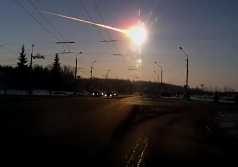 Напомним, нежданный космический гость прилетел в 9 часов 20 минут 15 февраля. Он взорвался над те