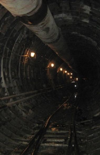 Строительно-монтажные работы на первом пусковом участке первой линии челябинского метрополитена -