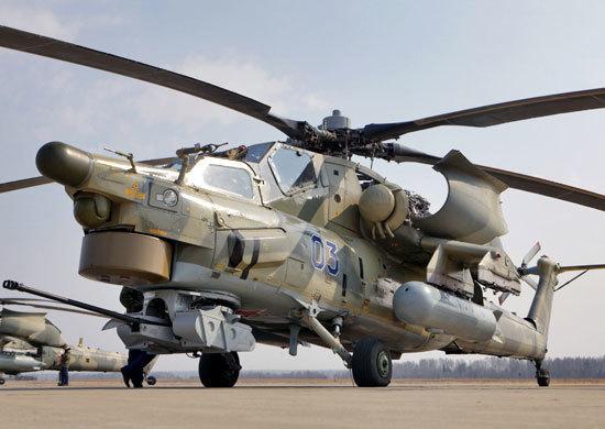 Как сообщает пресс-служба Министерства обороны России, вертолет потерпел катастрофу в 1:29 по мос