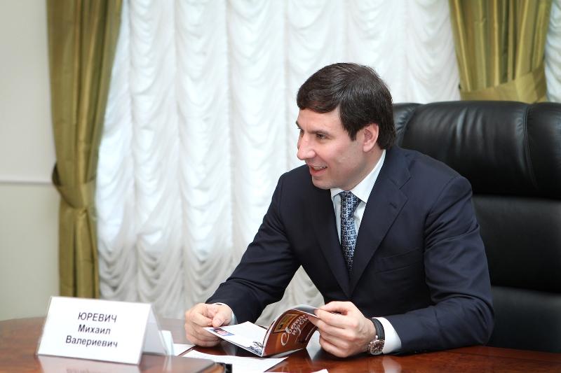 На заседании областного градостроительного совета Михаил Юревич раскрит