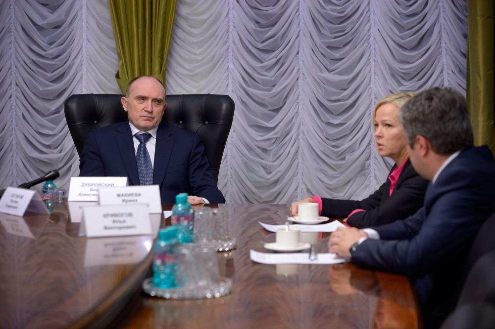 Перспективы включения монотерриторий в программу поддержки обсуждались на встрече губернатора Бор