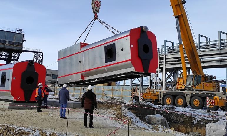 На Троицкой ГРЭС ПАО «ОГК-2» (г.Троицк, Челябинская область) начался монтаж оборудования пуско-от