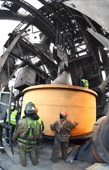 Челябинский металлургический комбинат (ПАО «ЧМК», входит в группу «Мечел») завершил капитальный р