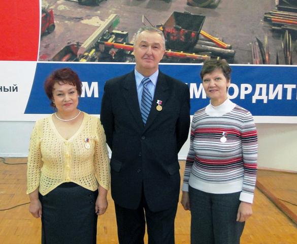 В будущем году 18 февраля профсоюз работников общего машиностроения России отметит свое 3