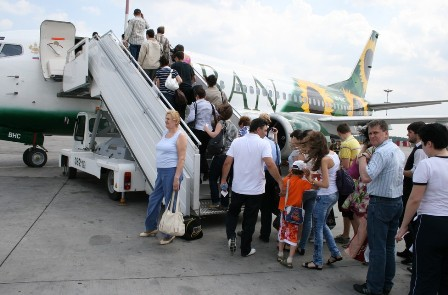 Как сообщил агентству «Урал-пресс-информ» пресс-секретарь авиакомпани