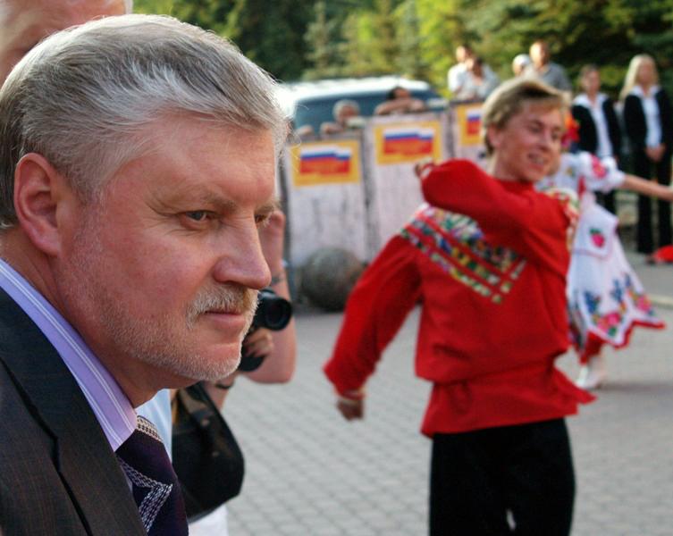 Впрочем, начался съезд с подведения итогов избирательной кампании по выборам в Госдуму. Сергей Ми