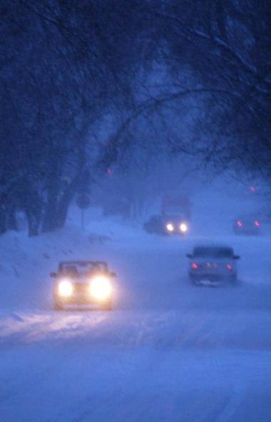 В Челябинской области объявлено штормовое предупреждение на пятницу, 20 декабря, - мокрый снег, м