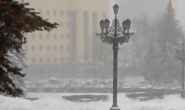 Сегодня, 14 января, в связи с низкой температурой окружающего воздуха отменены занятия в школах В