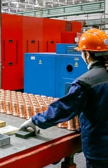 Работники ООО «Механоремонтный комплекс» - одного из крупнейших предприятий Группы ПАО «ММК» (Маг