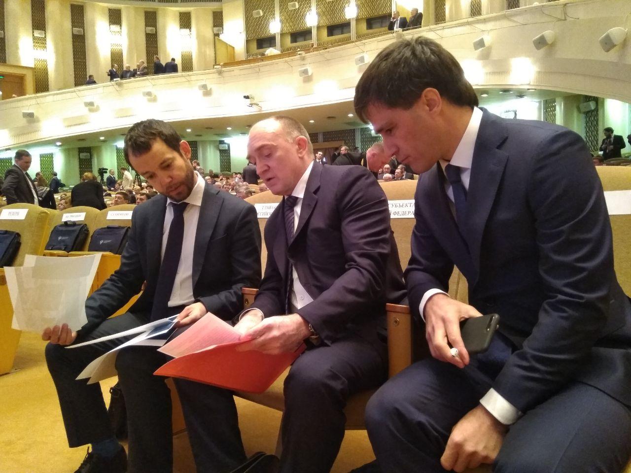 С докладом глава региона выступил на заседании коллегии министерства транспорта РФ. Губерн