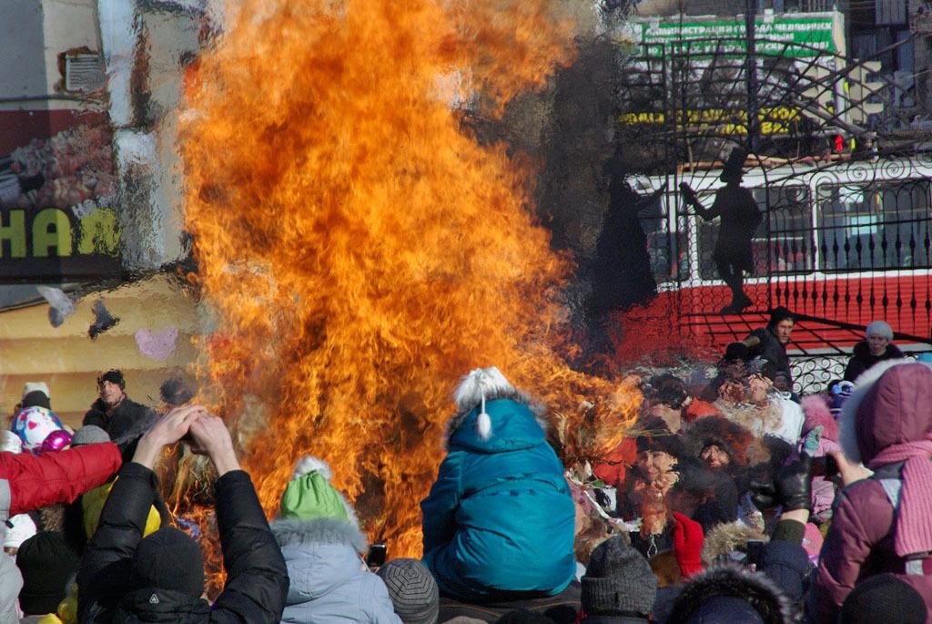 С понедельника, 4 марта, началась масленичная неделя - самый разгульный народный праздник на Руси