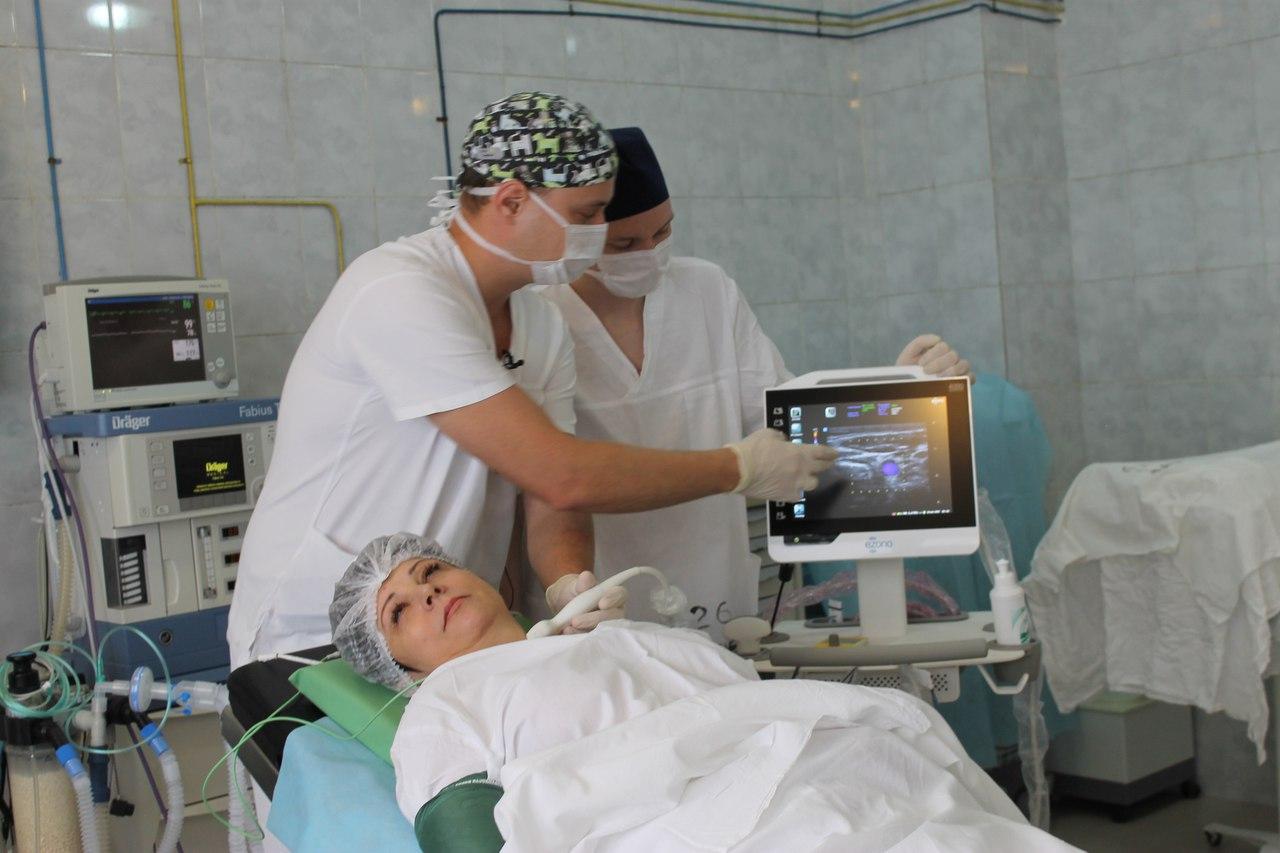 В Челябинской областной клинической больнице у анестезиологов-реаниматологов к профессиональному
