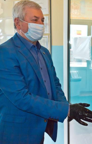 Председатель Законодательного собрания Челябинской области Владимир Мякуш принял участие в заседа