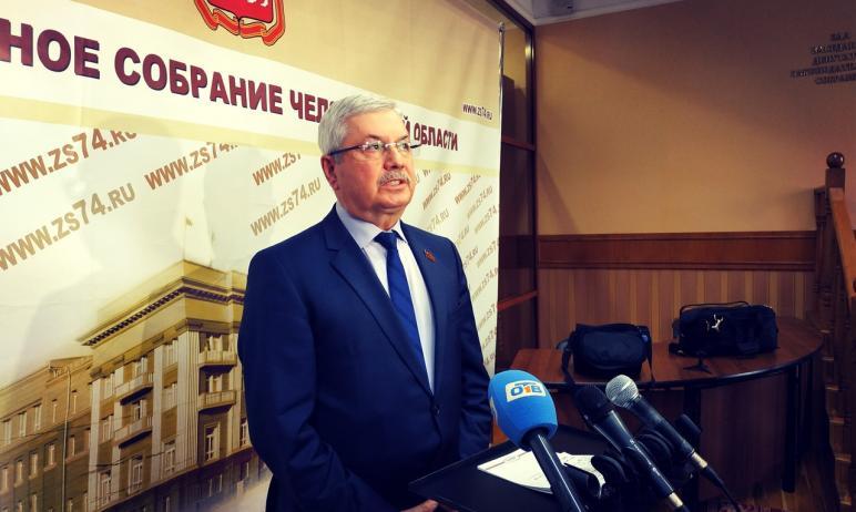 Председатель Законодательного собрания Челябинской области Владимир Мякуш вошёл в десятку медиаак