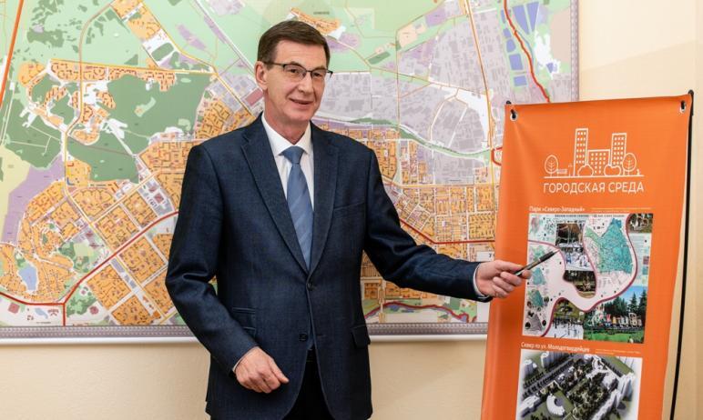 В Курчатовском районе Челябинска в этом году продолжат благоустраивать пешеходные зоны вдоль прос