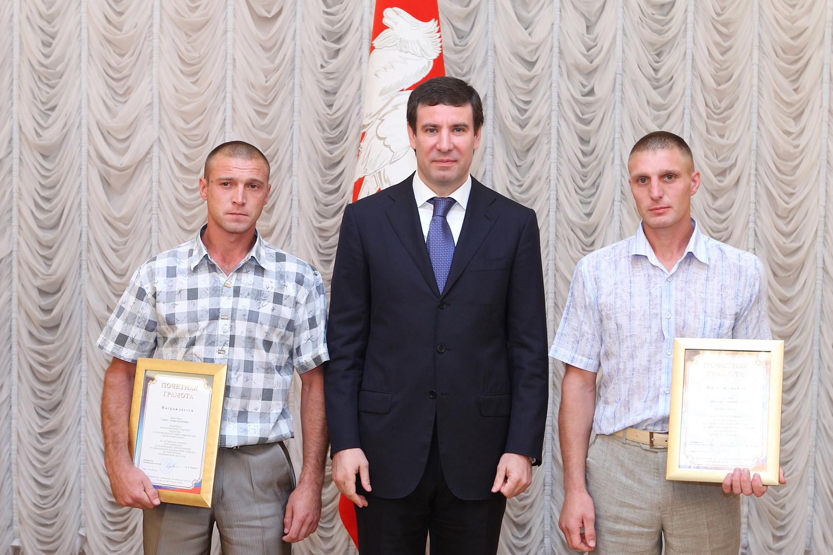 На торжественный прием были приглашены 48 «народных спасателей» из Варненского, Карталинского, Ка