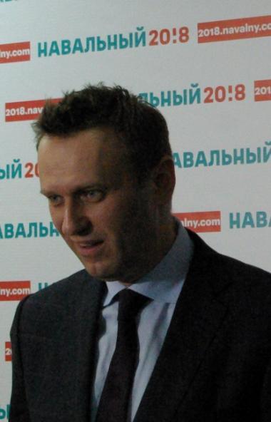 Российский оппозиционер Алексей Навальный, находившийся на лечении в берлинской клинике «Шарите»