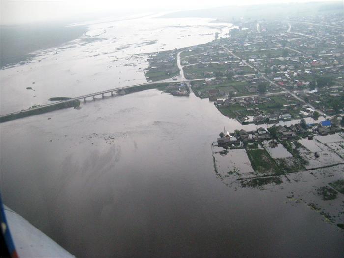 «За четыре месяца после прихода «большой воды» была проведена серьезная работа по ликвидации пос