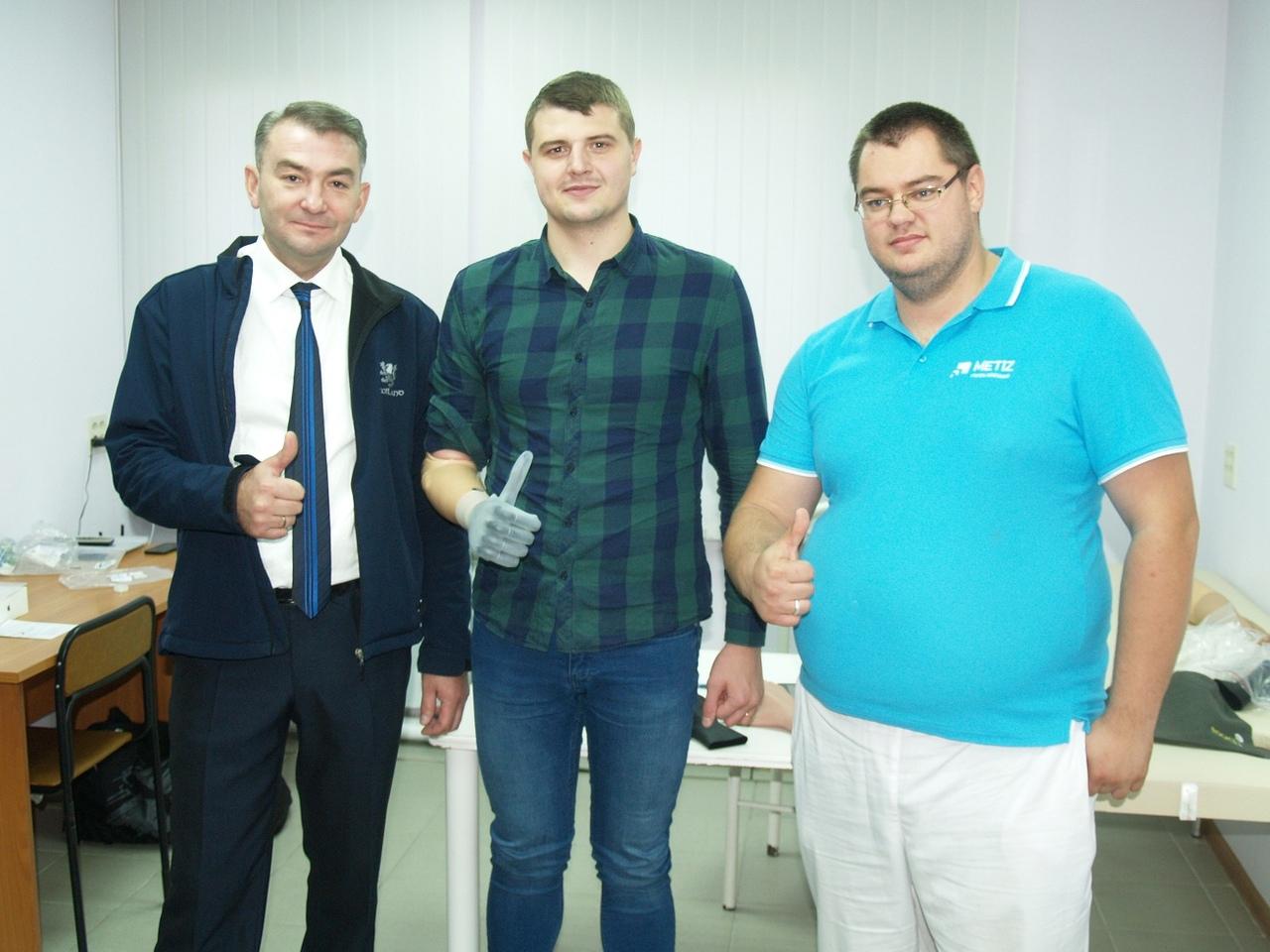 В Челябинске специалисты протезно-ортопедического центра совершили чудо – изготовили протез право