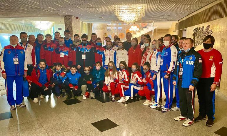 Юная челябинская спортсменка Ева Никитина завоевала «золото» первенства Европы по боксу в Софии.