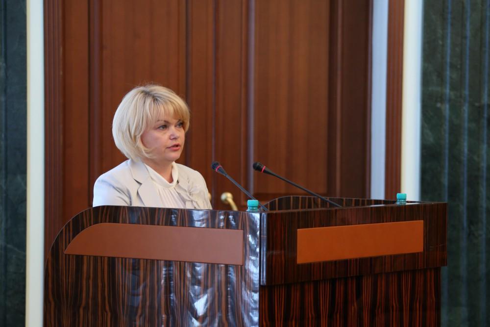О ходе исполнения данного поручения президента доложила министра социальных отношений региона Тат