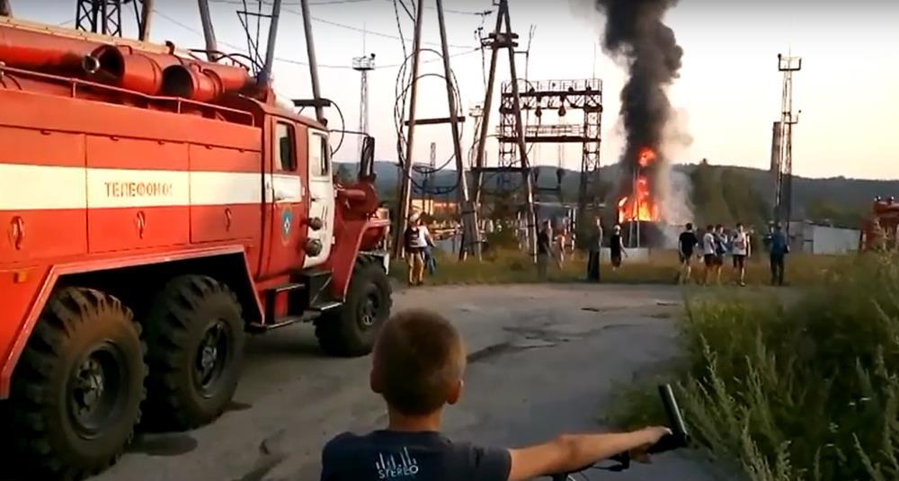 Возгорание произошло вечером 2 августа на улице Железнодорожной. «По предварительной версии, прои