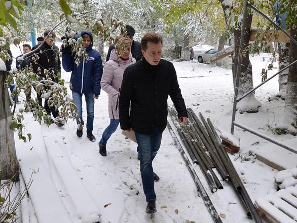 В Челябинске замерзают жители домов № 8 и 10 по улице Артиллерийской и домов № 4, и 5 по улице Ку