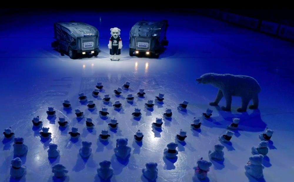 ХК «Трактор» принял участие в мировом adele challenge. Своим креативным видео-роликом «Трактор» н