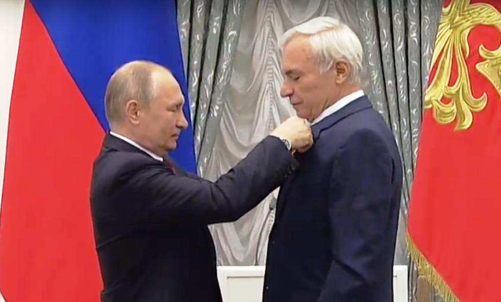 Президент Российской Федерации Владимир Путин сегодня, 23-го мая, в Екатерининск