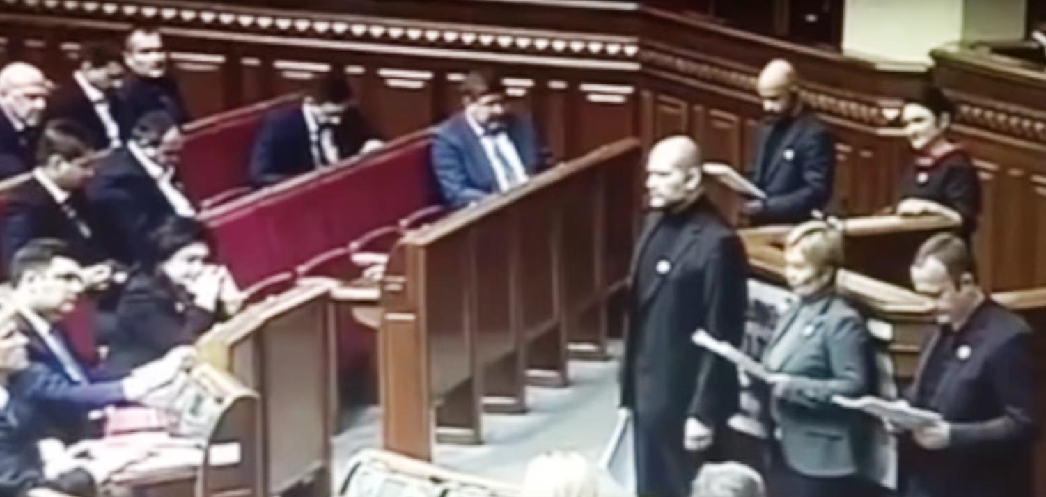 Вчера, 25 ноября, отмечаемый в Европе как день борьбы с насилием в семье, депутаты украинского п