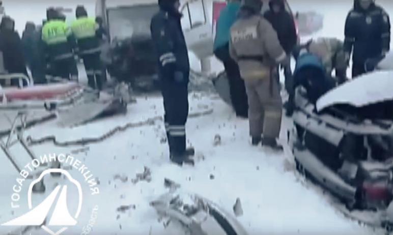 Сегодня, восьмого февраля, в Троицком районе Челябинской области водитель автомобиля Ford Galaxy