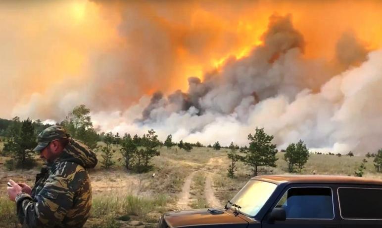 Завершена эвакуация людей на юге Челябинской области, где бушуют пожары. Как сообщили в пресс-слу