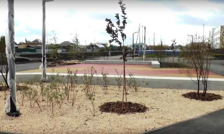 В Тракторозаводском районе Челябинска в 2021-м году благоустроили три общественных пространства: