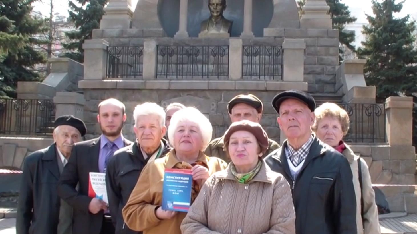 «Год назад жительница нашего города Светлана Щербакова дозвонилась до Прямой линии и указала на п