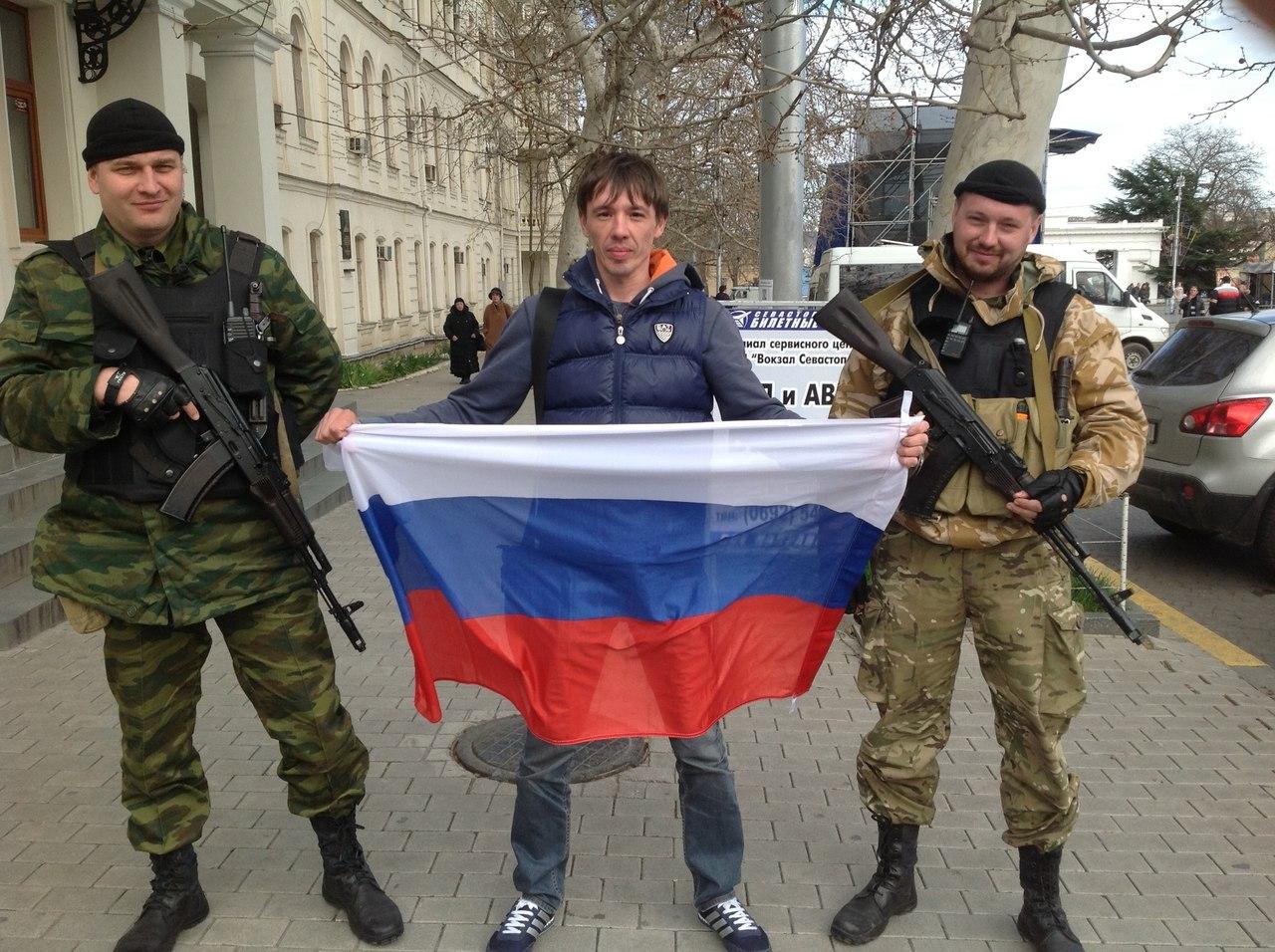Гимн вежливых людей посвящен Российской Армии, обеспечившей защиту населения Крыма до и во время