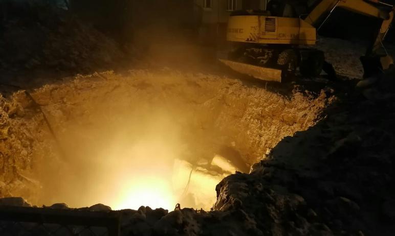 Коммунальная авария, которая произошла минувшей ночью в Златоусте (Челябинская область), устранен