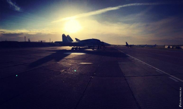 Командование трех авиаполков Центрального военного округа завершило полеты в Челябинской области.