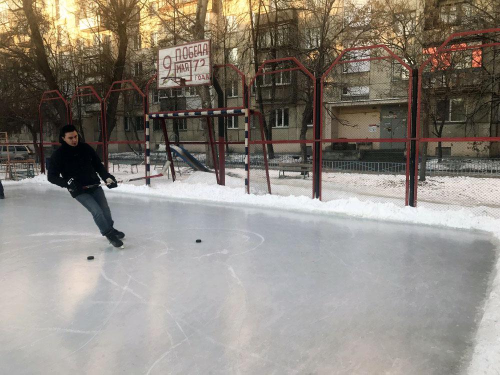 В Челябинске этой зимой на радость любителямактивного отдыха под открытым небом зальют 78 катков