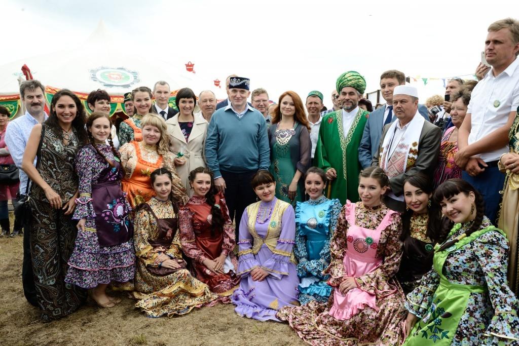Более пятнадцати тысяч человек приняли участие в областном Сабантуе в Троицке