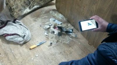 Установлен владелец самодельной бомбы, найденной на парковке в Симе
