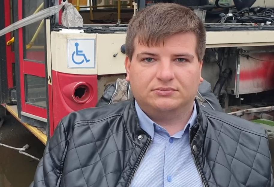 Челябинский инвалид-общественник Николай Ольховский попросил временно исполняющу