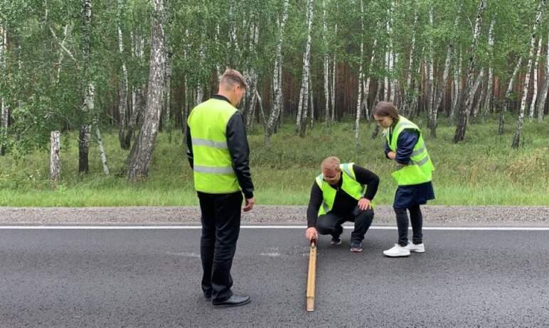 Эксперты Общероссийского народного фронта выявили грубые нарушения в строительстве участка дороги