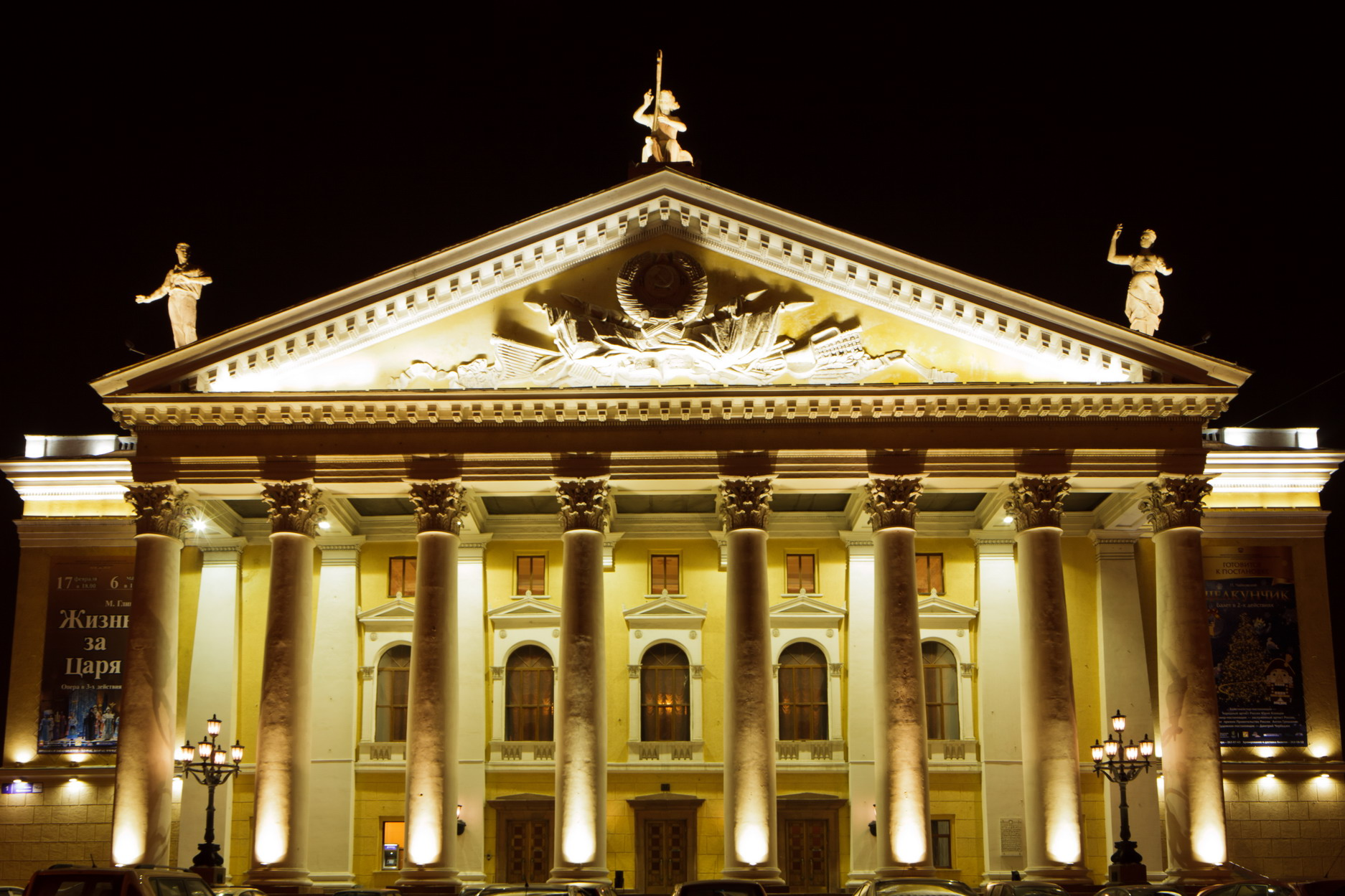 В 11 часов 30 минут начнется спектакль «Белоснежка и семь гномов» (Театр оперы и балета имени Гли